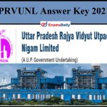 UPRVUNL Various Post Answer Key, Other Post Exam Date, Admit Card 2021