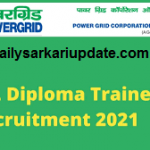 PGCIL Diploma Trainee Online Best Form 2021