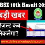 CBSE Board Class 10th (high School) Result 2021 declare all the best