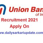 Union Bank of India SO Online Form 2021