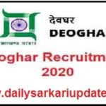 Jharkhand Various Post Online Form 2021